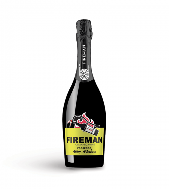 Fireman Prosecco DOC Organic Wine Workers