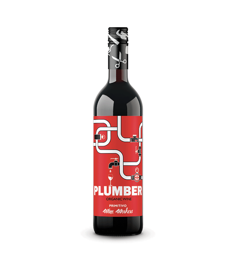Plumber Primitivo Puglia IGT Organic Wine Workers